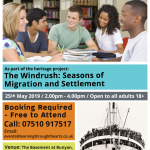 Poetry Writing Workshop: Inspired by Windrush Poetry