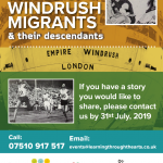 The Story of Windrush Migrants: Open Call - Share Your Story