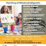 Creative Ideas: The Story of Windrush Migrants