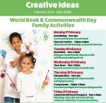 Creative Ideas: World Book & Commonwealth Day Family Activities