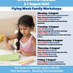 Flying Week Family Workshops 3-7 August 2020