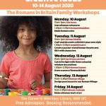 The Romans in Britain Family Workshops 10-14 August 2020