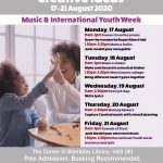 Music and International Youth Week Family Workshops 17-21 August 2020