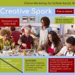 Creative Spark- Free Online Workshops