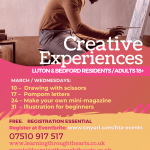 Creative Experiences Luton and Bedford